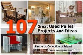107 great used pallet projects and ideas