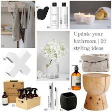 bathroom styling ideas how to update your bathroom without renovating the design