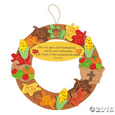 thanksgiving wreath craft kit
