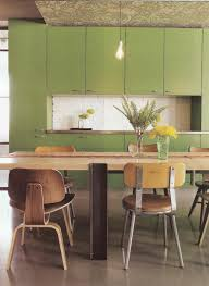 kitchen green kitchen cabinet with modern style fits blonde