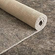 amazon com 10x13 thick felt and rubber rug pad non slip rug pad