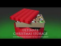Christmas Ornament Storage Archival by Video Of Kathy From Ultimate Christmas Storage On Better Living