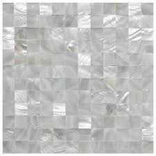 subway oyster mother of pearl rectangle shell mosaic for kitchen