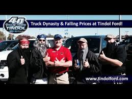 earl tindol ford truck dynasty falling prices at tindol ford