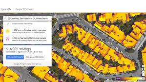 San Francisco Google Maps by Google Maps Enables You To Get The Right Amount Of Solar Energy