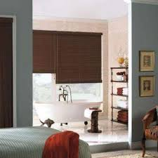 Wood Grain Blinds Faux Wood Blinds Blinds The Home Depot