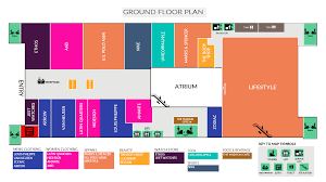 Centre Bell Floor Plan by One Awadh Center Premium Shopping Mall In Lucknow Best Place