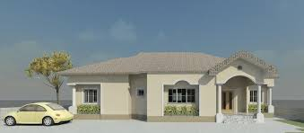 Floor Plan 4 Bedroom Bungalow Reality Building Of A 4 Bedroom Bungalow Properties 9 Nigeria