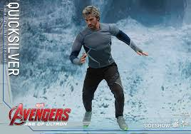 quicksilver movie avengers marvel quicksilver sixth scale figure by hot toys sideshow