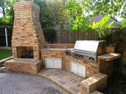 outdoor fireplace kits with pizza oven u2014 jen u0026 joes design best