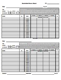 basketball score sheet free download create edit fill u0026 print