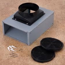 Range Hood Recirculating Proaire Ductless Recirculating Kit For Compass Series Wall Mount