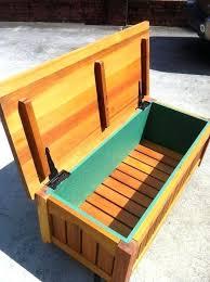 outdoor bench seat with storage plans dazzling outdoor storage