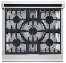 30 Inch 5 Burner Gas Cooktop Dcs Rdv305n 30 Inch Pro Style Dual Fuel Range With 5 Sealed