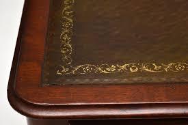 Kleiner Schmaler Schreibtisch Kleiner Antiker Viktorianischer Schreibtisch