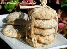 la cuisine de doria crunchy nut cookies biscuits croquants à la noix la cuisine de
