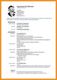 standard cv format pdf smart and balanced resume template standby guardianship form
