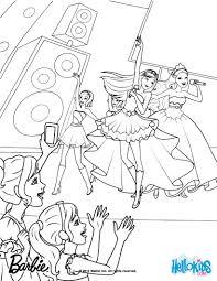 barbie coloring pages princess popstar coloring