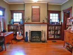 ergonomic craftsman fireplace for bookcases 103 craftsman style