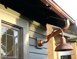 Gooseneck Outdoor Light Fixtures Outdoor Gooseneck Lighting Fixtures Gooseneck Exterior Light