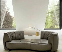 Minimalist Shape Sofa With Lower Style On The Floor With White - Sofa design modern