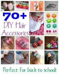 school hair accessories 70 diy hair accessories family crafts