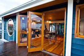 Bi Fold Doors Exterior by Folding Exterior Glass Doors Cost Additional Cost Information