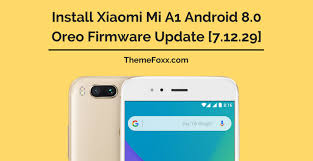 android firmware and install xiaomi mi a1 android 8 0 oreo firmware update