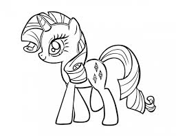 pony friendship magic printable coloring pages