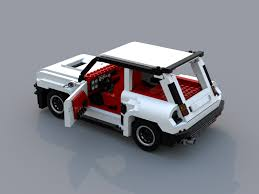 renault 5 engine lego ideas renault 5 turbo rc