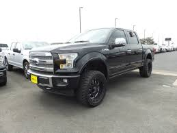 ford platinum 2017 ford f 150 platinum 4x4 w custom lift wheels tires