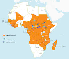 Map Of Sub Saharan Africa Nothing But Nets Nothing But Nets
