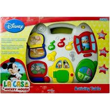 Mickey Mouse Activity Table Activity Table Mickey Mouse Ditoys Disney Mesa O Colgante
