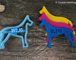 custom dachshund cookie cutter personalized for your pet
