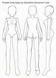 female body base by bleedmimi on deviantart