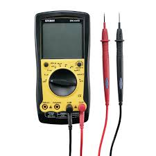 sperry instruments dm6400 digital multimeter 8 function ac dc