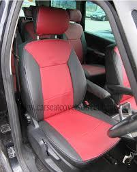 galaxy car ford galaxy 3rd gen black u0026 red leatherette seat covers car seat