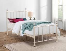 birlea jessica bed metal cream single amazon co uk kitchen