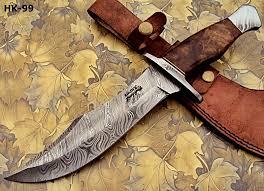 reg 274 handmade damascus steel 13 00 inches hunting knife u2013 rose