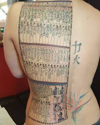 egyptian weighing of the heart tattoo by morpheus ravenna at