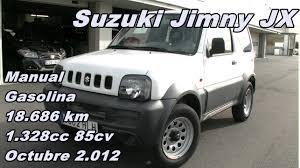 suzuki jeep 2012 suzuki jimny 1 3 jx 12 manual gasolina 85cv 18 686km suzuki madrid