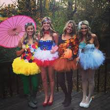 halloween costumes for group of 4 four seasons love