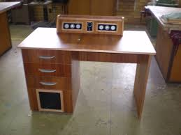 Custom Computer Desk Design by Speakers Built Into Computer Desk Youtube