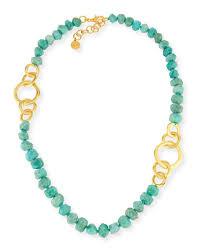 bead necklace long images Nest jewelry long amazonite beaded necklace neiman marcus jpg