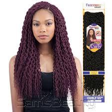 twisted hair for chrochet freetress synthetic hair crochet braids senegal twist curly