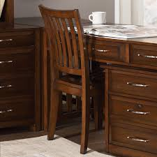 Transitional Office Furniture by Shop Liberty Furniture Hampton Bay Cherry Transitional Task Chair