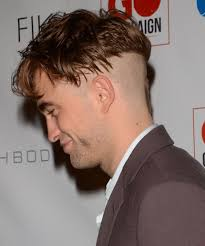 shaved back and sides haircut robert pattinson debuts weird new haircut