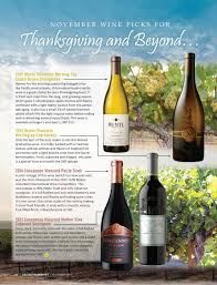 wine thoughts november 2016