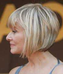 photo gallery of bob hairstyles for old women with thin hair