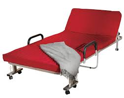 fingerhut compact folding rollaway bed loveseat